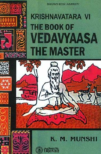 The Book of Vedavyaasa The Master (Krishnavatara Vol VI)