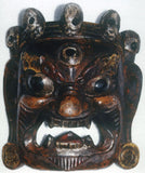 Wooden Mask-Bhairav