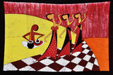 Rejoicing Steps - Cotton Batik Painting