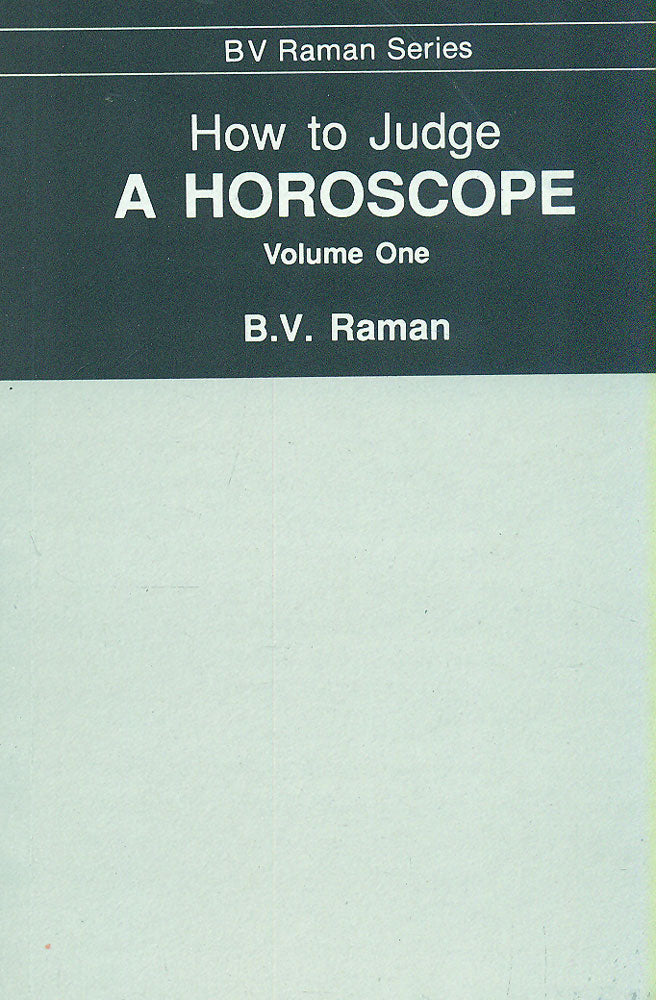 Buy How To Judge A Horoscope Book Online Gangesindia