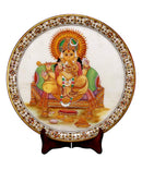 Sound of Good Luck - Ganesha Marble Painting