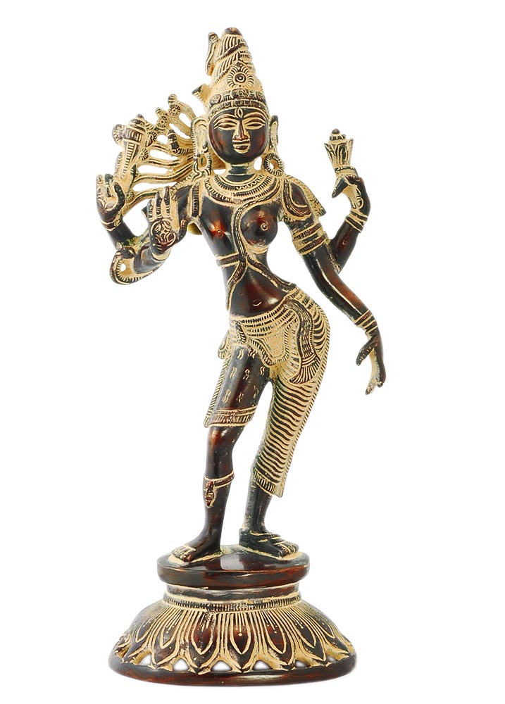 Ardhanarishwar Brass Sculpture