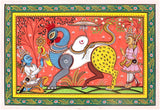 'Lord Nabagunjara' a figure comprising nine different creatures