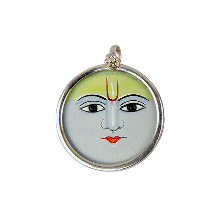 Lord of the Night 'Chandrama' - Silver Pendant