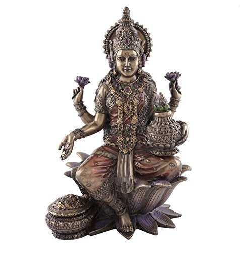 Seated Lakshmi Hindu Goddess of Wealth