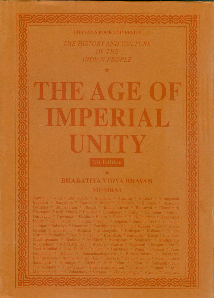 The Age of Imperial Unity (Vol. 2)