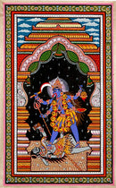 The Endless Force Goddess Kali - Patachitra