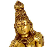 'Goddess Uma' Consort of Lord Shiva - Brass Sculpture
