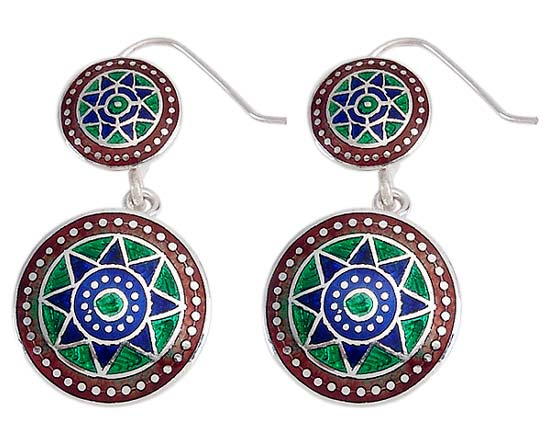 """ The Aztecs"" Earrings"
