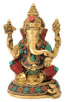 God Vinayaka Brass Sculpture