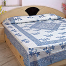 Pure Cotton Maandana Design Bedsheet