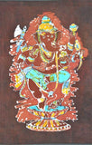 """Durja"" Invincible Lord Ganesha - Batik Painting"