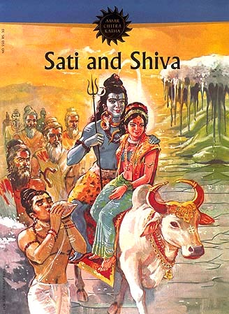 Sati and Shiva - Paperback Comic Book