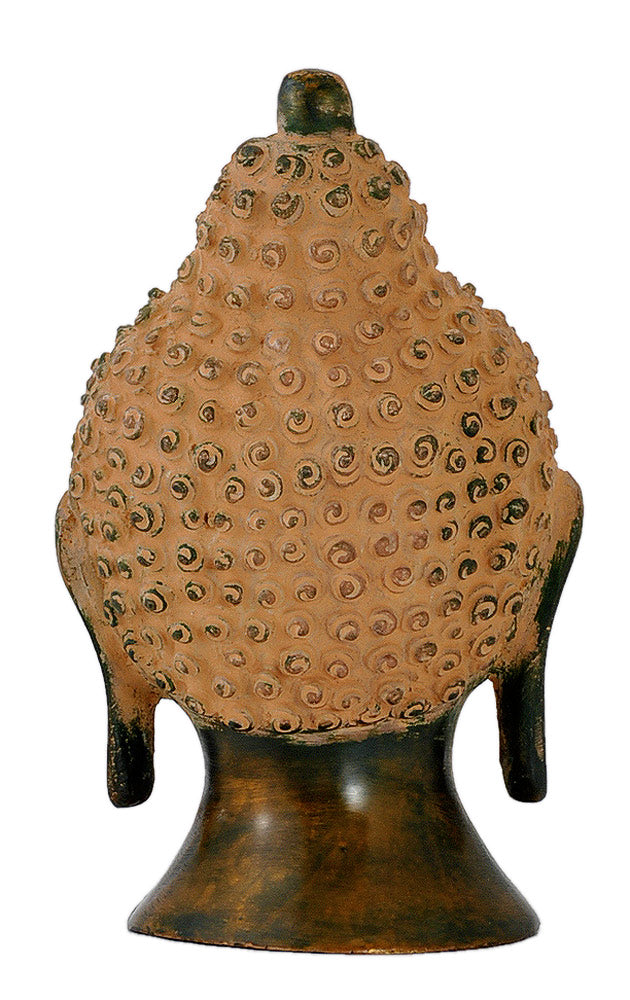 Buddha - Rustic Copper Finish Statue