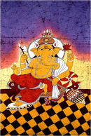 Remover of Obstacles - Batik Painting 66""