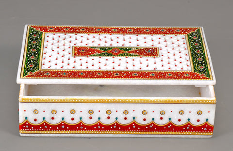 Marble Decorative Jewelry Box