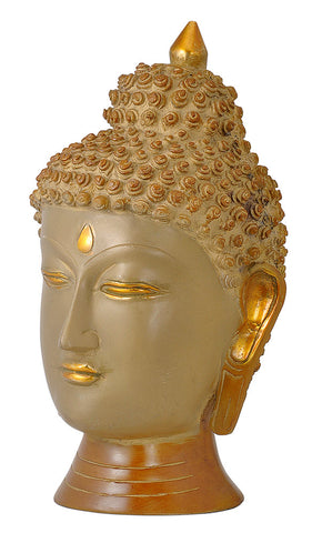 Unique Buddha Head Antique Look