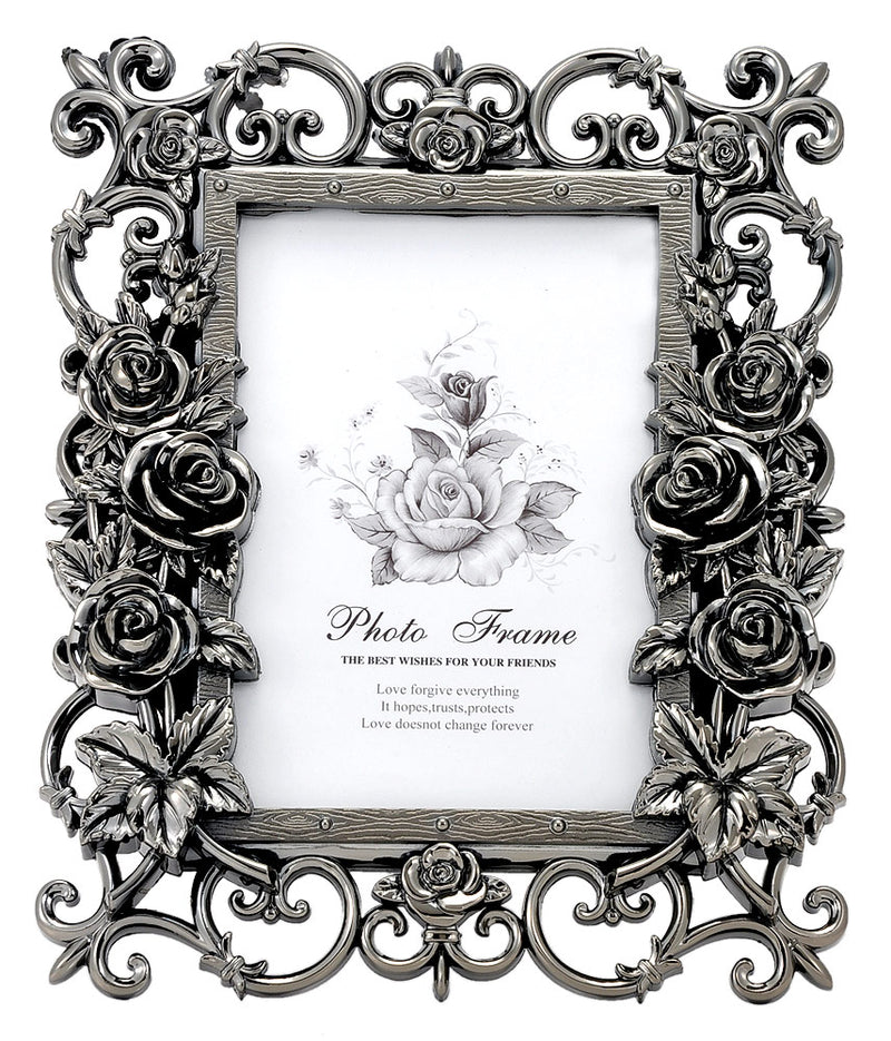 Floral Acrylic Photo Frame