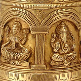 "Brass Bell ""Indian Gods"""