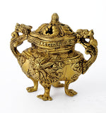 Incense Burner with Dragon Motifs
