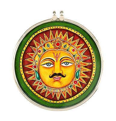 The Sacred God Sun - Handcrafted Pendant