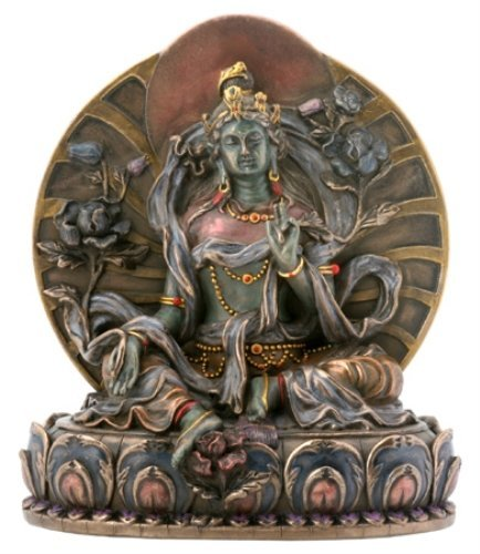 Goddess Green Tara - Bronze Finish Cast Resin