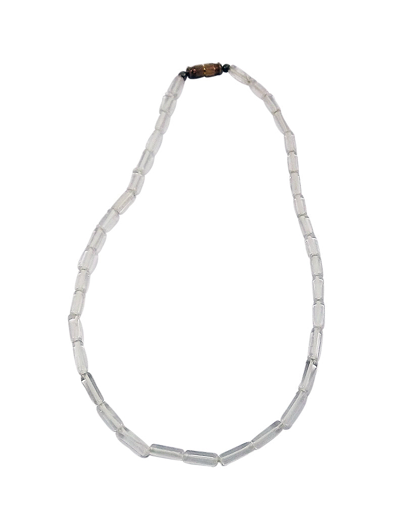 Purity and Love - Quartz Crystal Necklace