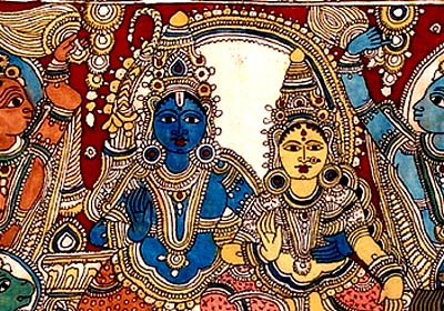 Lord Sri Rama with Sita