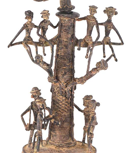 Tree of Life - Tribal Dhokra Statue