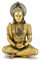 Lord Rama Always Resides in My Heart - Hanuman Sculpture