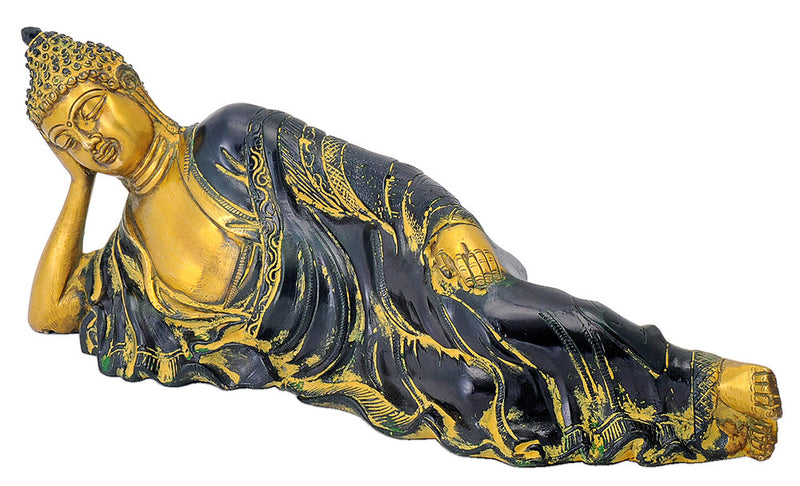 Decorative Resting Buddha Figurine