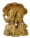 Lakshmi Narayan Seated on Sheshnaag