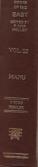 The Laws of Manu (SBE Vol. 25)
