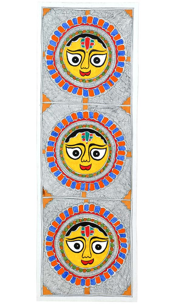 Bright & Beautiful - Madhubani Painting
