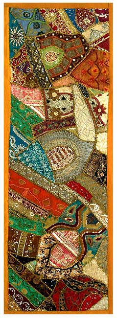 Soil of Gujarat - Patchwork Wall Hanging