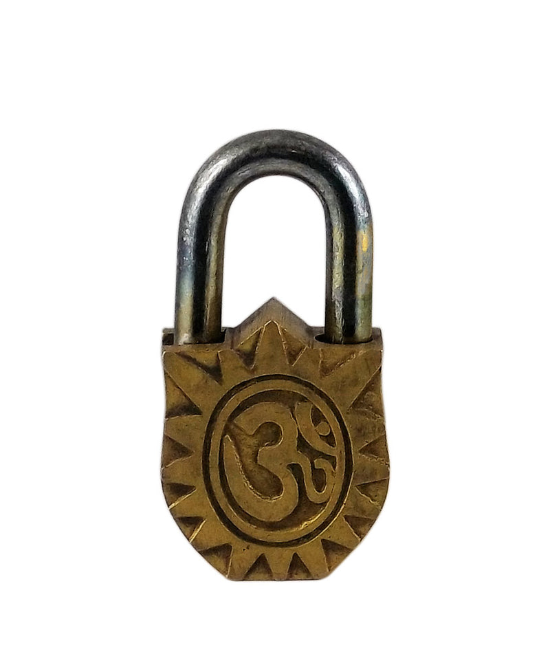 Lord Hanuman Decorative Brass Lock