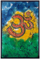 """Aum The Holy Word"" Batik Painting"
