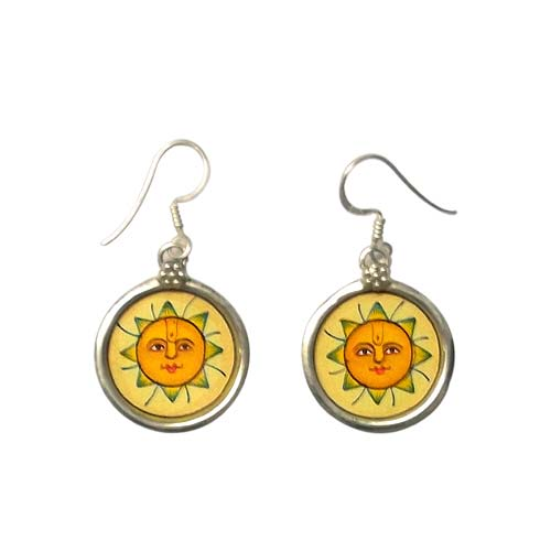 Lord Surya -  Earrings