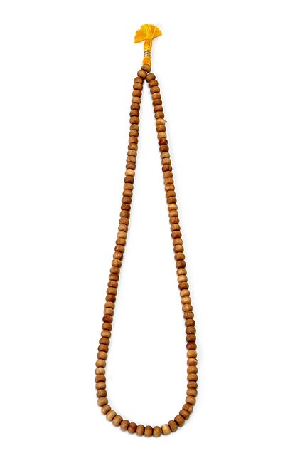 "Chandan Sandal Wood Mala 25"" L"