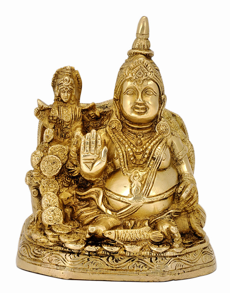 Kuber and Mata Lakshmi