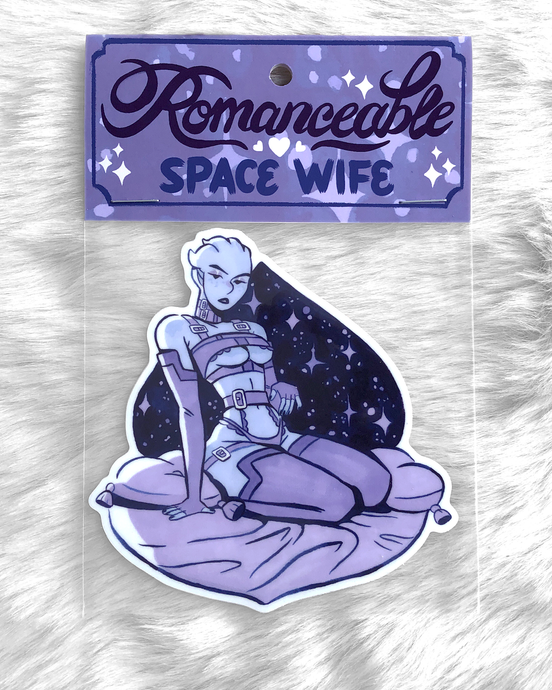 Space Wife Sticker