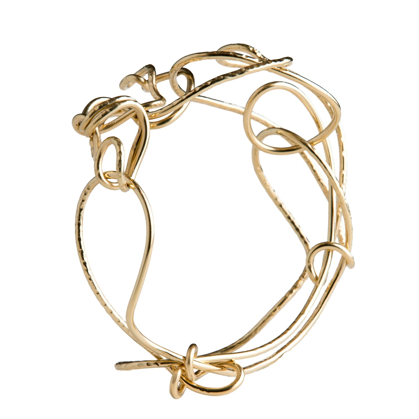 18kt Gold Endless Love Bangle