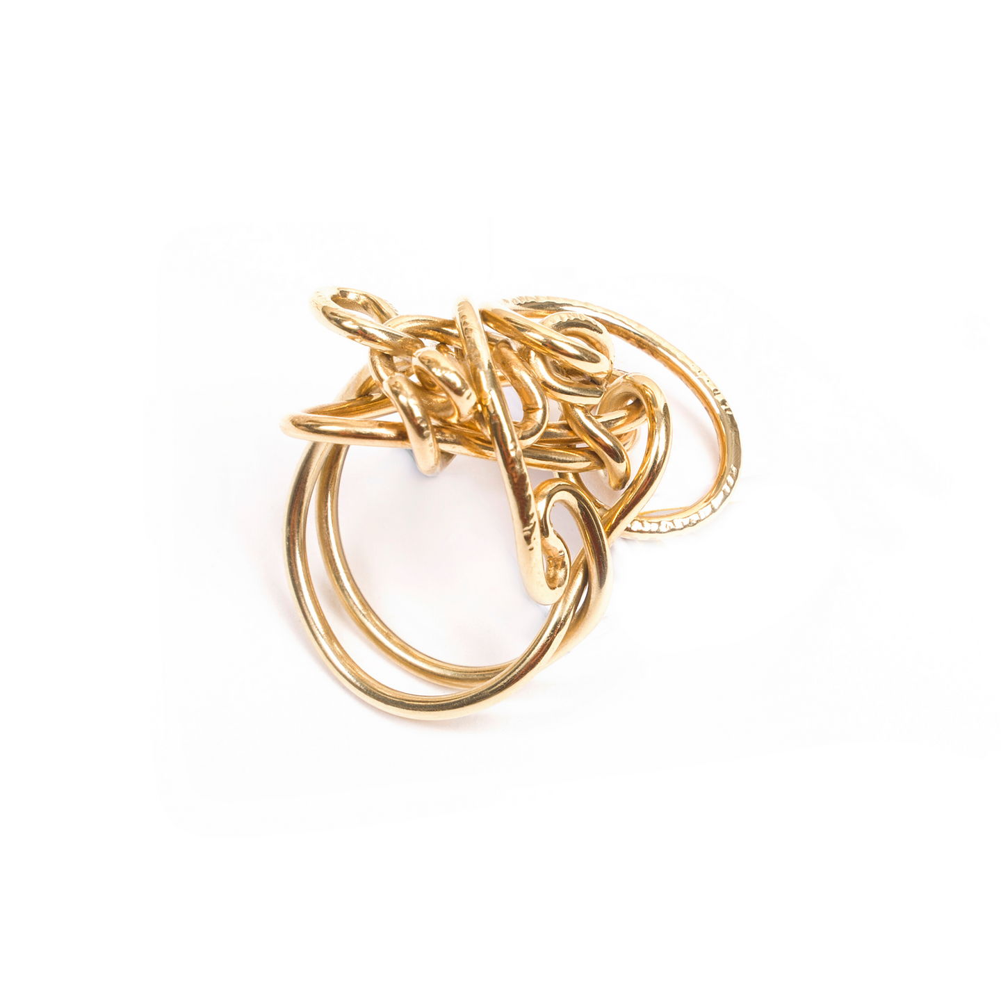 18 kt Gold Endless Love Ring