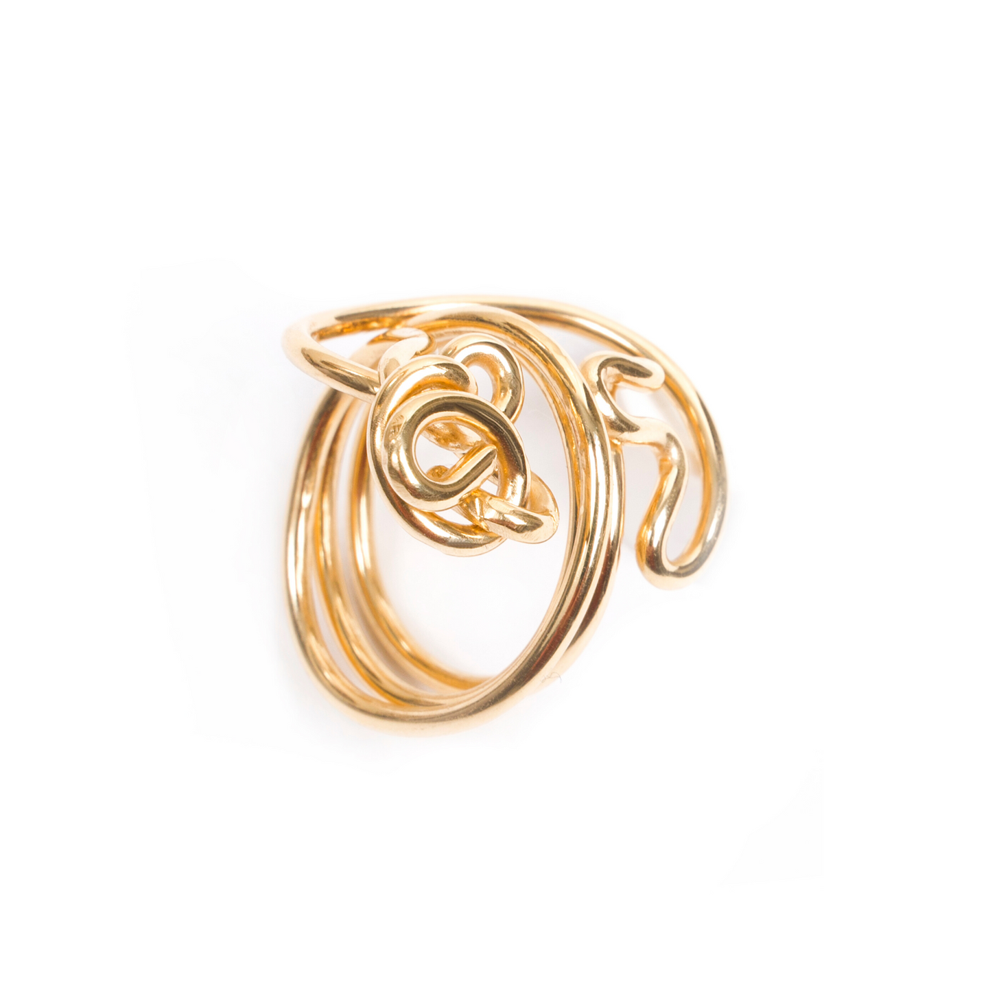 18kt Gold Endless Love Ring