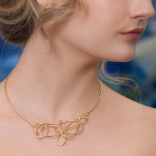 Load image into Gallery viewer, Small 18kt Gold Endless Love Necklace