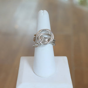 Sterling Silver Endless Love Ring