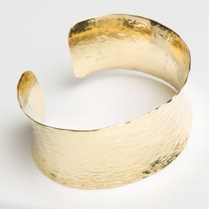 18kt Gold Contmeporary Classic Cuff