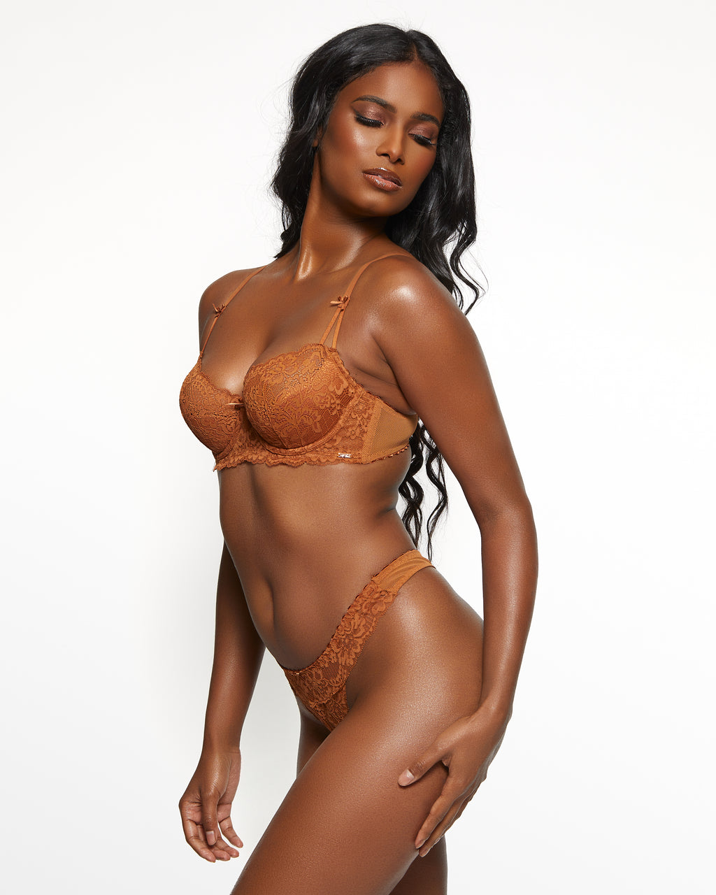 Love, Vera Nude Bra & Panty Set Butter Toffee