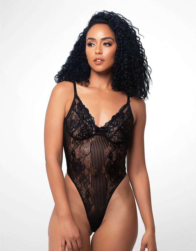 Eryn Bodysuit Black