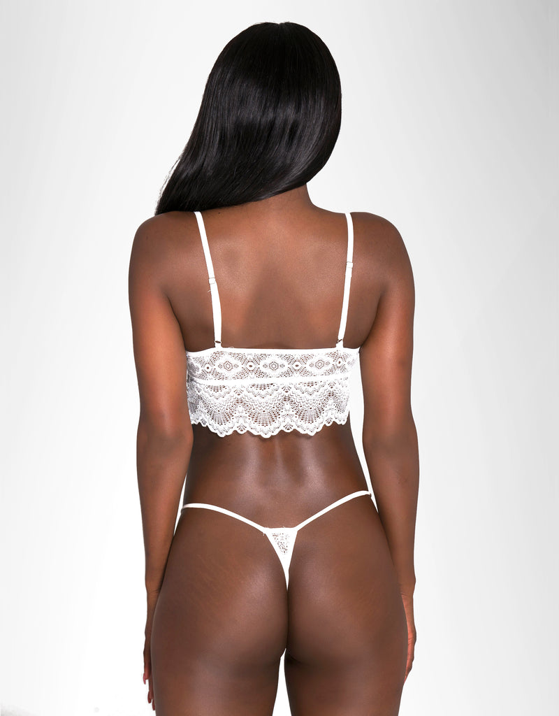 Cree Thong White